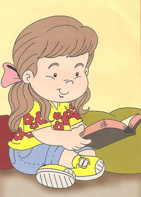 Menina Fofa Lendo Biblia Nao Salve Esta Imagem E Apenas U Flickr