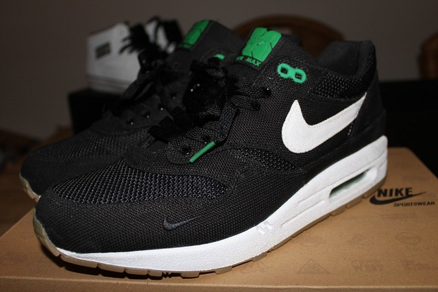 the best attitude 99362 ee52d ... Nike air max 1 x patta  4 Black white-lucky green   by