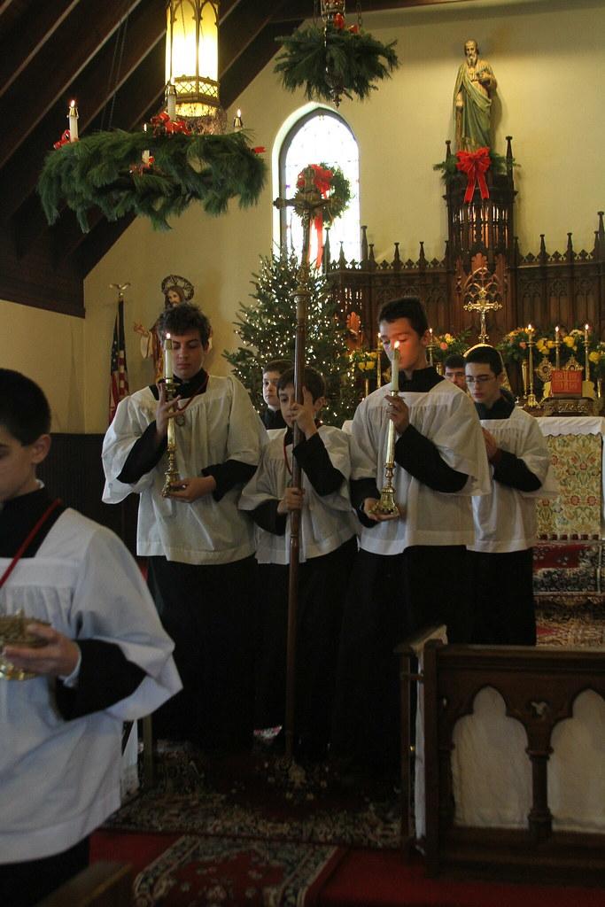 Christmas Mass 2009 at St  Jude R  C  Church (SSPX) | Flickr