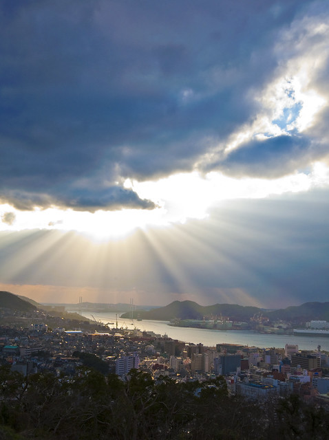 View of Nagasaki