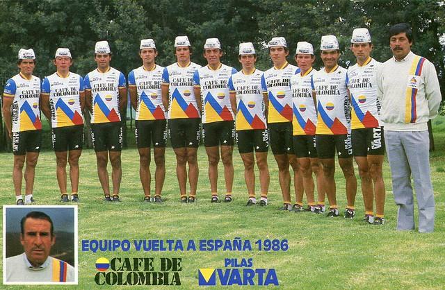 Cafe de Colombia 1986 Vuelta a