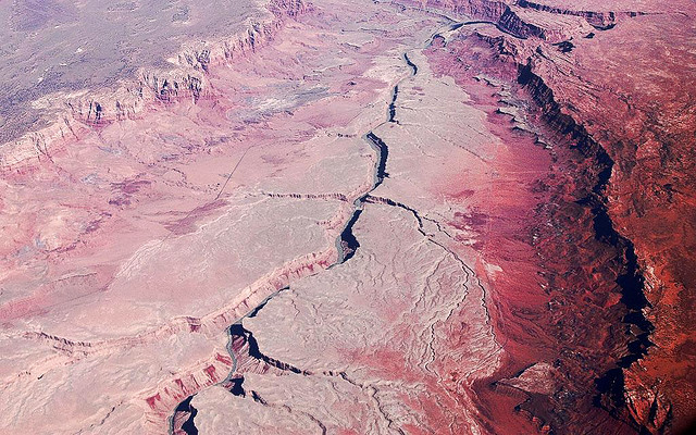 Northeast Grand Canyon from 20,000'