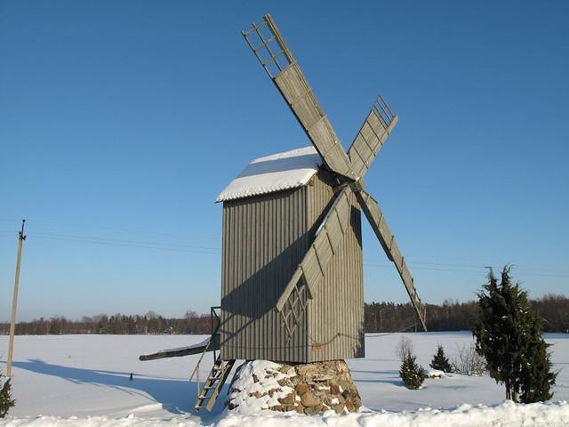 Windmill, Hiiumaa Estonia