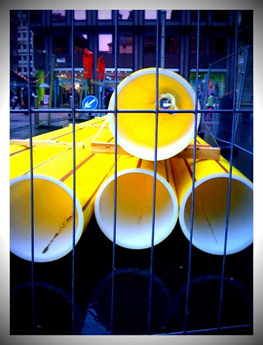 Noticings :: big yellow tubes (056/365) | by Headphonaught