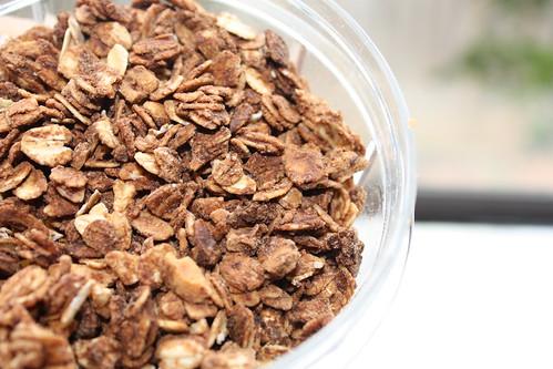 Chocolate Peanut Butter Granola | by ilovemypit