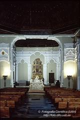 Interior de la Capilla de San Ildefonso