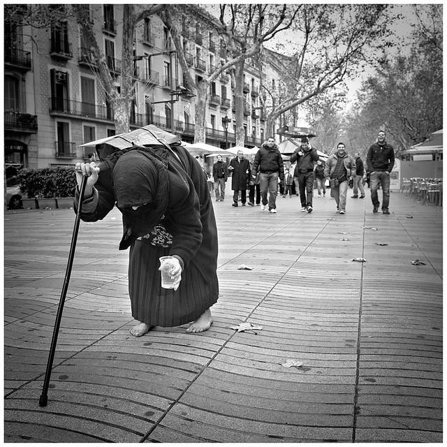 The Walk (stroll around Barcelona)