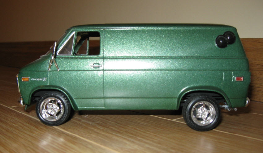 1973 chevy van shorty