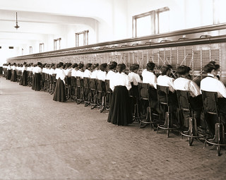 "Telephone Switchboard Operators - a vintage circa 1914 photo (cropped) | by IronRodArt - Royce Bair (""Star Shooter"")"