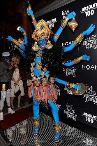 Heidi Klum Halloween Shiva.Supermodel Heidi Klum As Shiva The Destroyer Halloween 2 Flickr