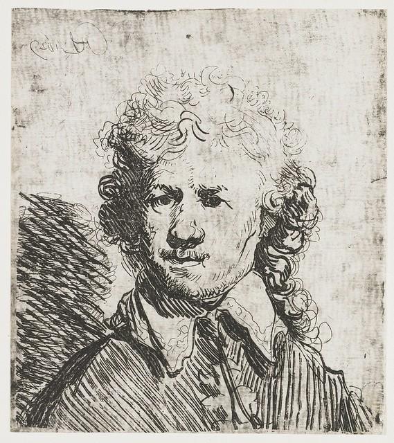 Rembrandt - Self-portrait cat-11 - [1629]