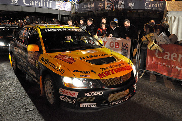 Rally GB start 12