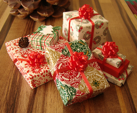 Clever Christmas Gifts.Tiny Cute Christmas Gifts Arrived Today In My New Home Mi