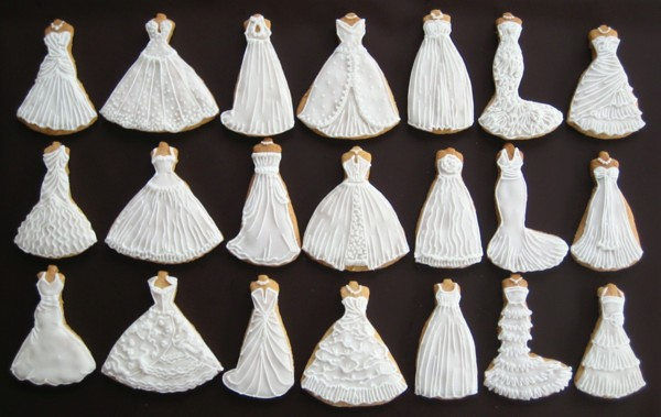 Spring 2010 Wedding Dress Cookie Collection