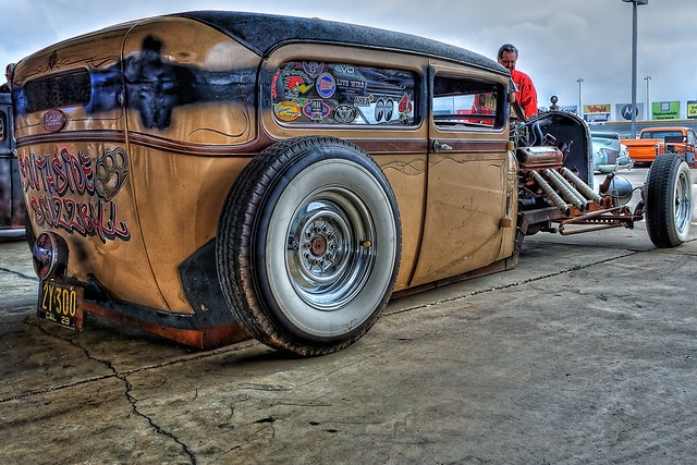 Rat Rod at the Southeastern Nationals