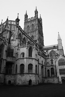 Morning Lit Gloucester Cathedral II