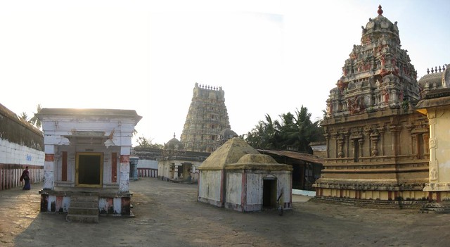 Backside of the temple