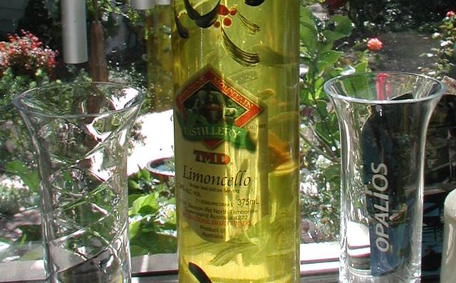 Limoncello TMD bottle QLD