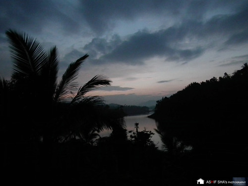 trees sunset lake nature water forest evening dam wayanad ashif banasurasagardam
