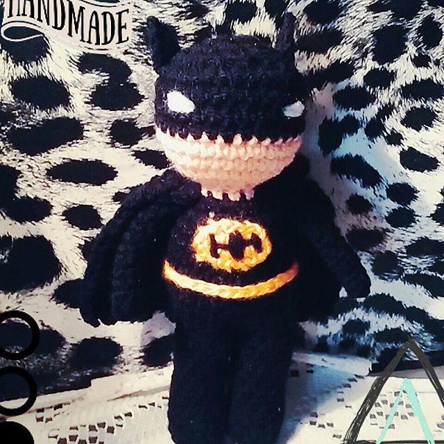 Batman Crochet Doll Pattern, Little Batman crochet, PDF Amigurumi ...   640x640