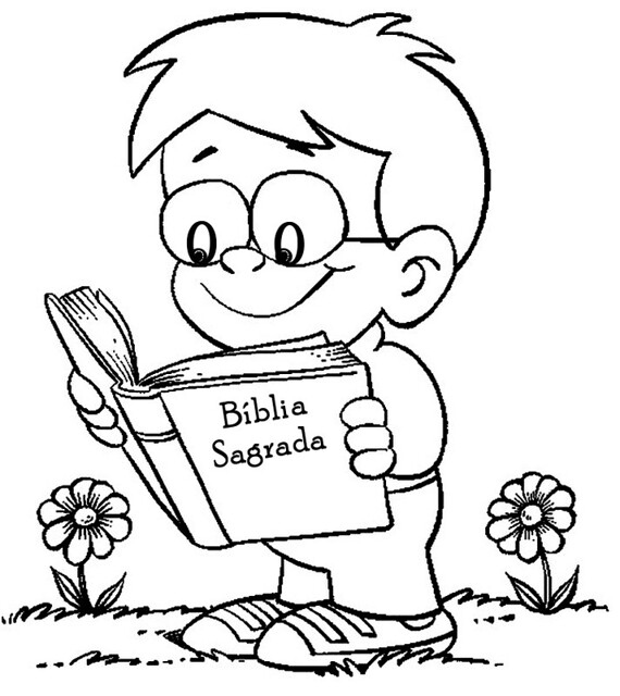 Menino Lendo A Biblia Atencao Clique Na Lente De Aumento Flickr