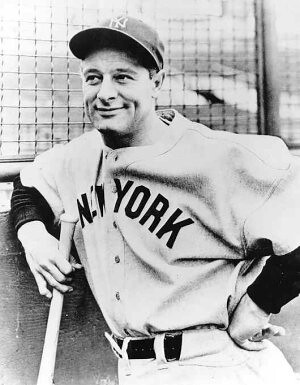 Lou Gehrig | by Willie Zhang