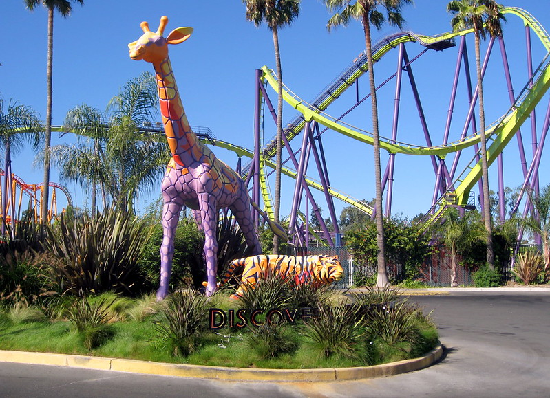 Vallejo - Six Flags Discovery Kingdom - Entrance