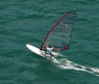 Olliver Gunman | by Windsurfing NZ