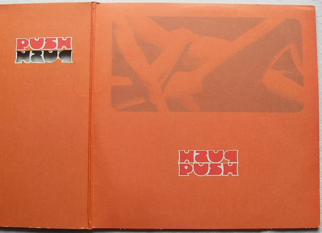 1971 HERBIE MANN Push LP GATEFOLD VINTAGE Tacky Album Cover Record LP 3