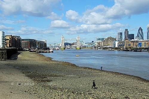 River Thames London.