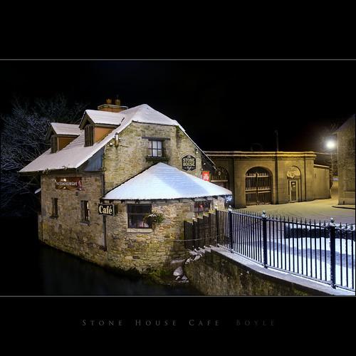 ireland snow night boyle roscommon