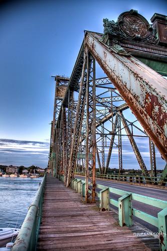 Memorial Bridge Walkway by Philip Case Cohen