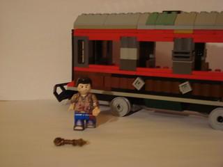 Lego Uncharted 2 Among Thieves Train Crash Nathan Drake Af Flickr
