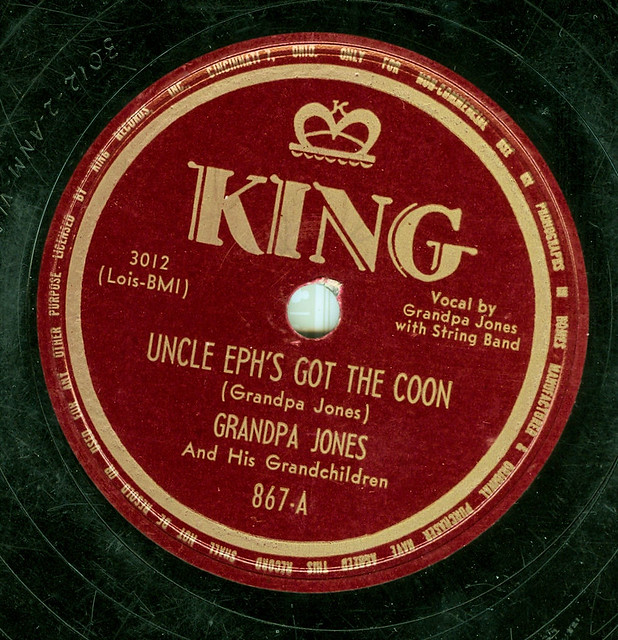 Grandpa Jones   Backed with Banjo Boogie   Wayne T  'Tom