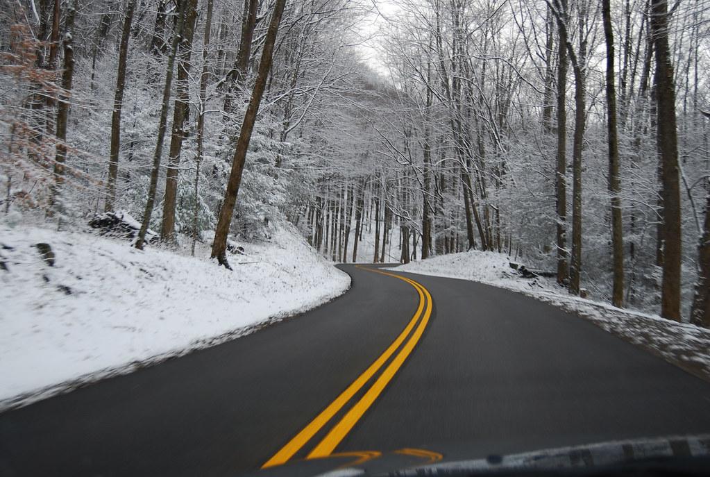 Road Into Cade's Cove
