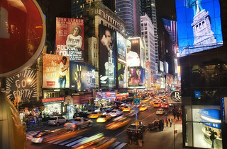 New York Times Square at Night   by Werner's World