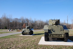 Two Tanks in Veterans Memorial Park