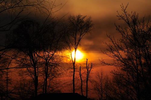 sunset orange nikon d90 yorksc nikond90 55mm250mm