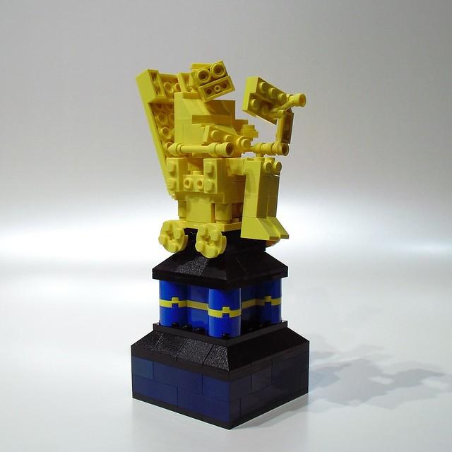 Bricks by the Bay 2010: Golden Hawking Award
