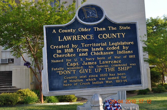 A County Older Than the State Lawrence County