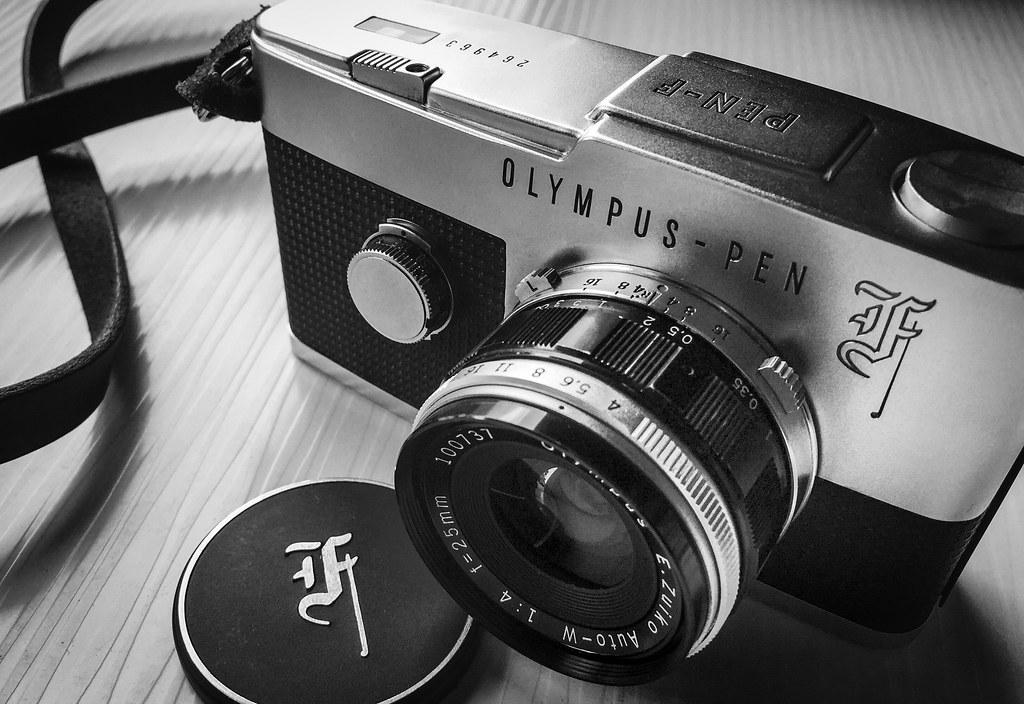 Olympus Pen F 35mm Film Camera   This is my workhorse, seria