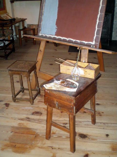 Mobilier de peintre de Rembrandt