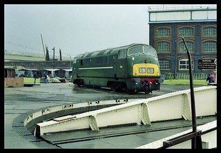 Isolated Warship D818 Just Off The Turntable At The