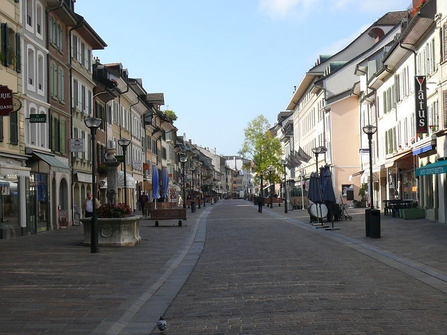 grand rue Morges