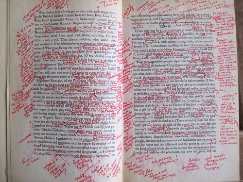 Annotations Finnegans Wake | by Medieval Karl