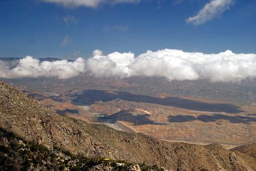 mountains nature clouds desert socal palmspringstram pilz8