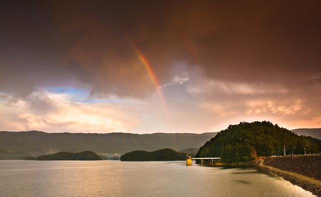 Double Rainbow and South Holston Dam