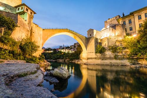 Mostar Blue Hour | by Maëlick