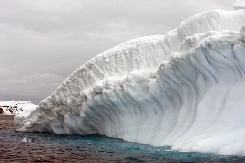 View of Collins Glacier in Antarctica | by United Nations Photo