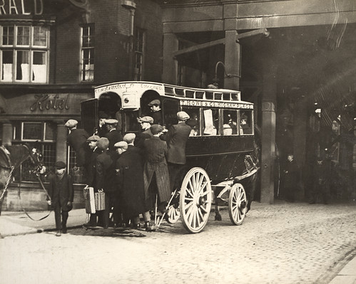 050155:Horse Bus St. Nicholas Street Newcastle upon Tyne Unknown c.1922 | by Newcastle Libraries